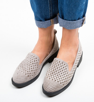 Ежедневни обувки Ancuty Сив