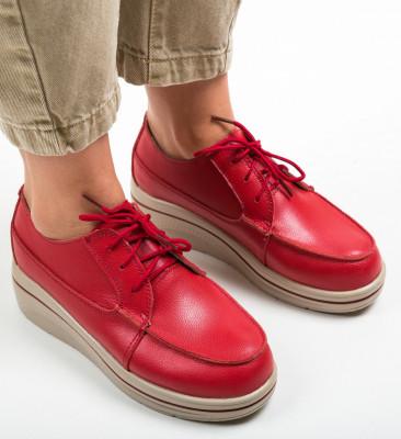 Ежедневни обувки Atanom Червени
