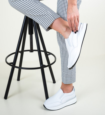 Ежедневни обувки Gemma Бели