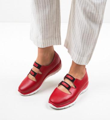 Ежедневни обувки Lott Червени
