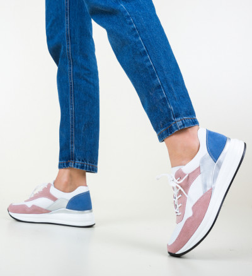 Ежедневни обувки Lynde Розов