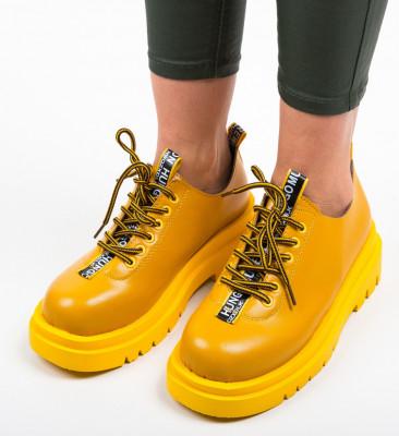 Ежедневни обувки Ryan Жълти