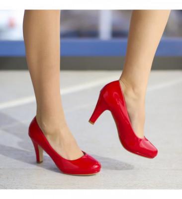 Обувки Ламбада Червени