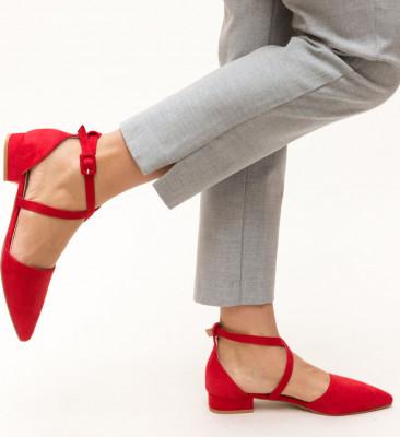 Обувки Amisha Червени