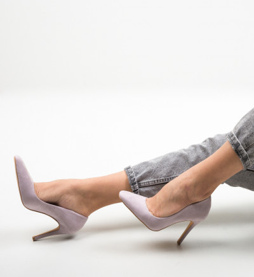 Обувки Cerys Лилав