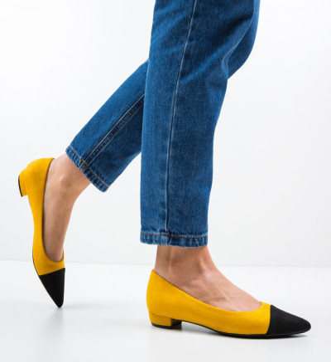 Обувки Cohe Жълти