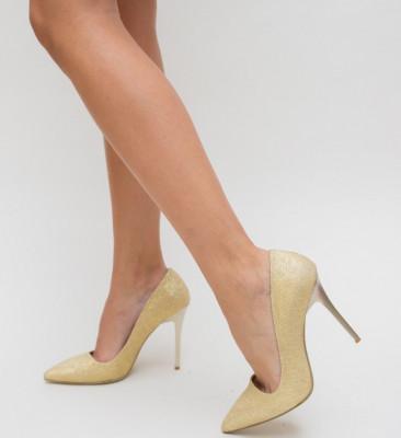 Обувки Demas Златни 2