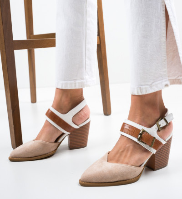 Обувки Doro Бежов