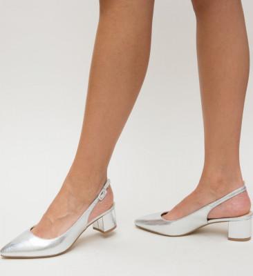 Обувки Filing сребърни