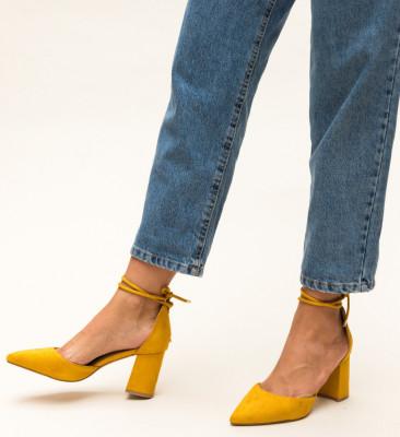 Обувки Fitonic Жълти