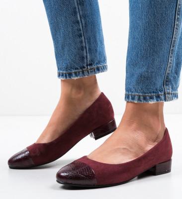 Обувки Gwio Гранатов