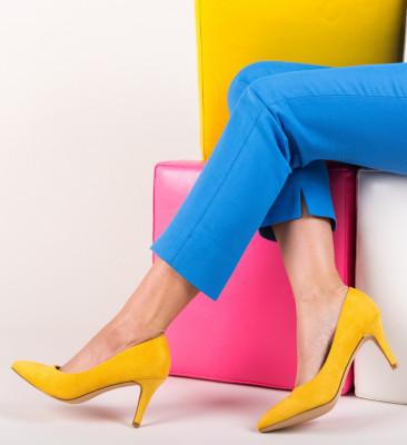 Обувки Hipor Жълти