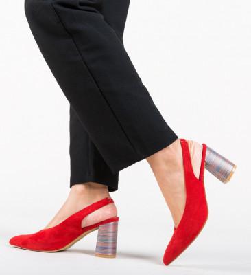 Обувки Iwan Червени