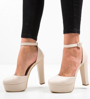Обувки Krista Бежов