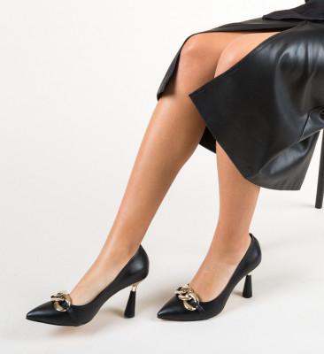 Обувки Link Черни