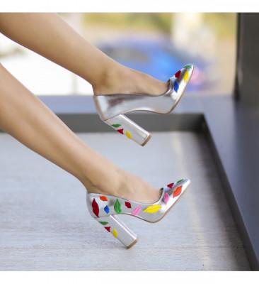 Обувки Lips Сребърни
