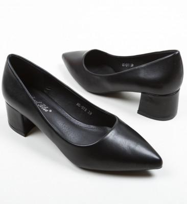 Обувки Shana Черни