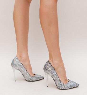 Обувки Siesto Сребърни