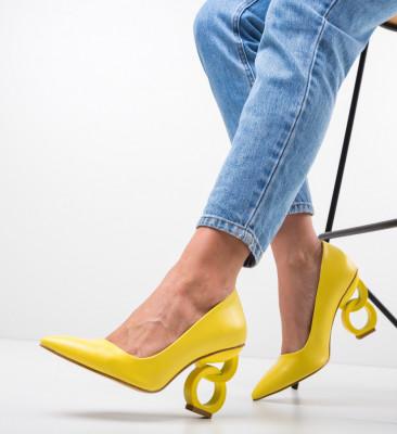 Обувки Simoni Жълти