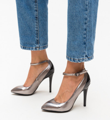 Обувки Stark Сребърни