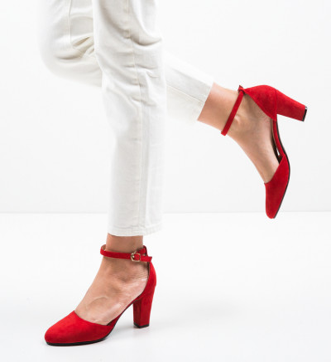 Обувки Struber Червени