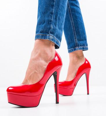 Обувки Vinso Червени