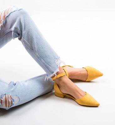 Обувки Wood Жълти