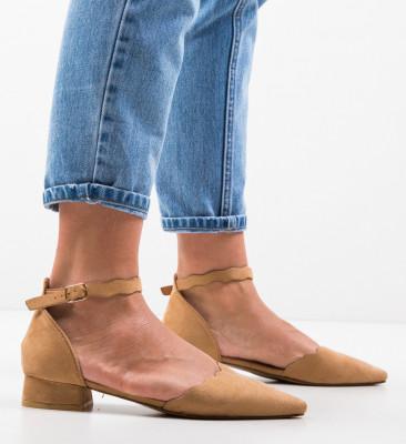Обувки Wood Камел