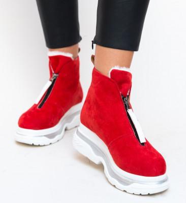 Спортни Обувки Escala Червени