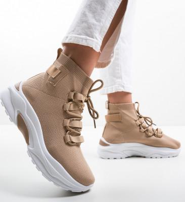 Спортни обувки Hunt Бежов
