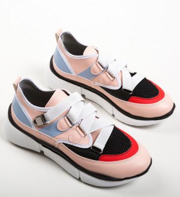 Спортни обувки Jacobas Розов