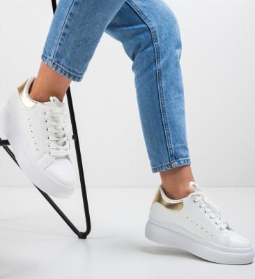 Спортни обувки Liana Златни
