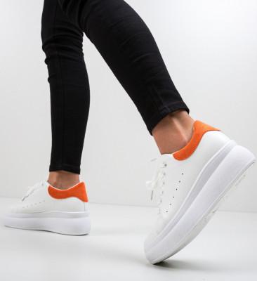 Спортни обувки Liana Оранжеви