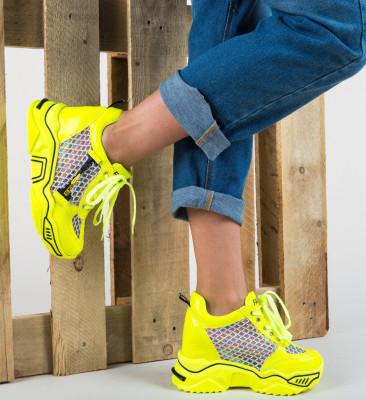 Спортни обувки Sprank Жълти