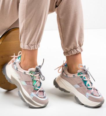 Спортни обувки Teras Розов