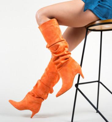 Ботуши Aperolo Оранжеви