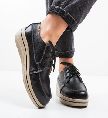 Ежедневни обувки Atanom Черни