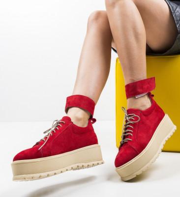 Ежедневни обувки Brosky Червени