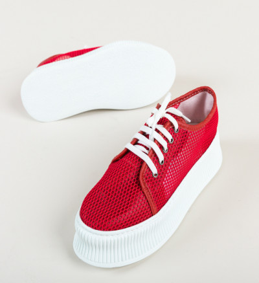 Ежедневни обувки Doheris Червени