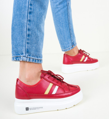Ежедневни обувки Ever Червени