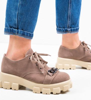 Ежедневни обувки Gremna Бежов