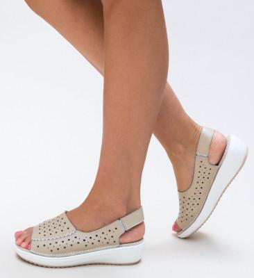 Ежедневни обувки Lindone Бежови
