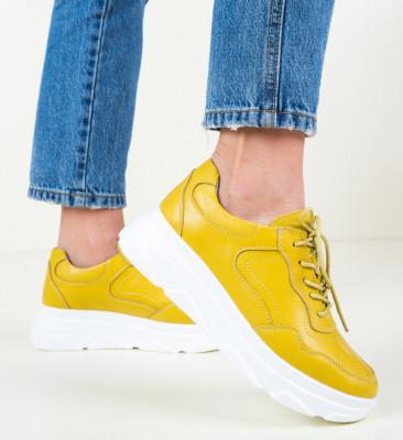 Ежедневни обувки Nur Жълти
