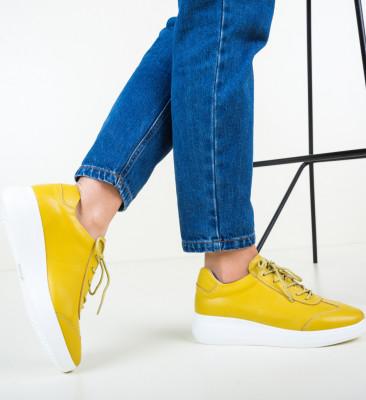 Ежедневни обувки Sash Жълти