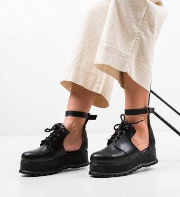 Ежедневни обувки Vespas Черни