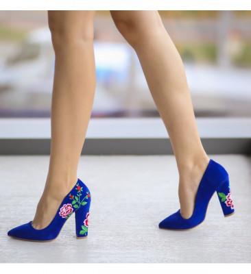 Обувки Витон Сини 2