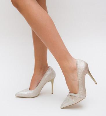 Обувки Сивиgor Златни