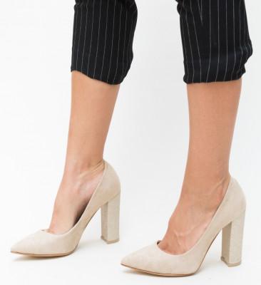 Обувки Adry Бежови