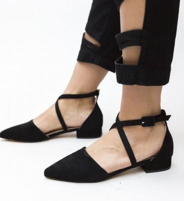 Обувки Amisha Черни