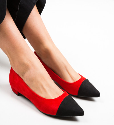 Обувки Cohe Червени
